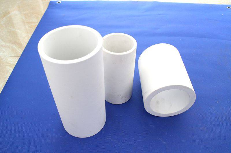 wear resistant alumina ceramic lining pipe for conveying material