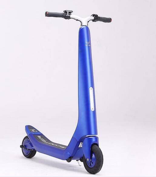 LEHE 2 wheel mini kick foldable electric scooter