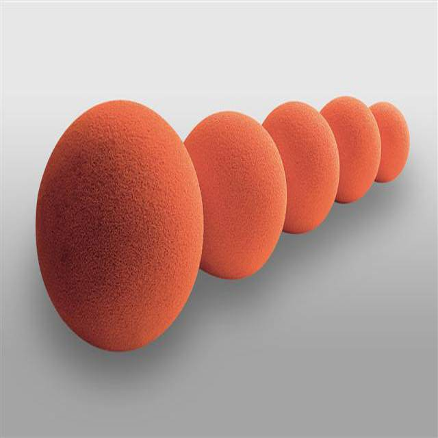Concrete Pump Pipe Rubber Sponge Cleaning Ball
