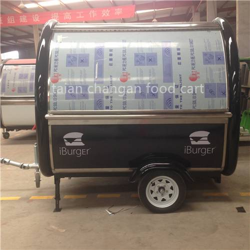 Stainless Steel Mobile Fast Food Trailer