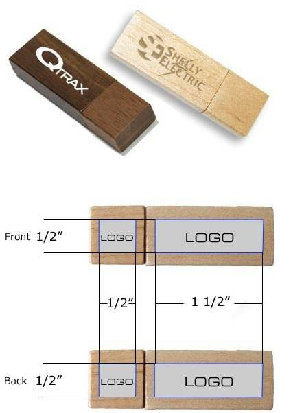 Wooden usb 2.0 flash drive for promotion gifts