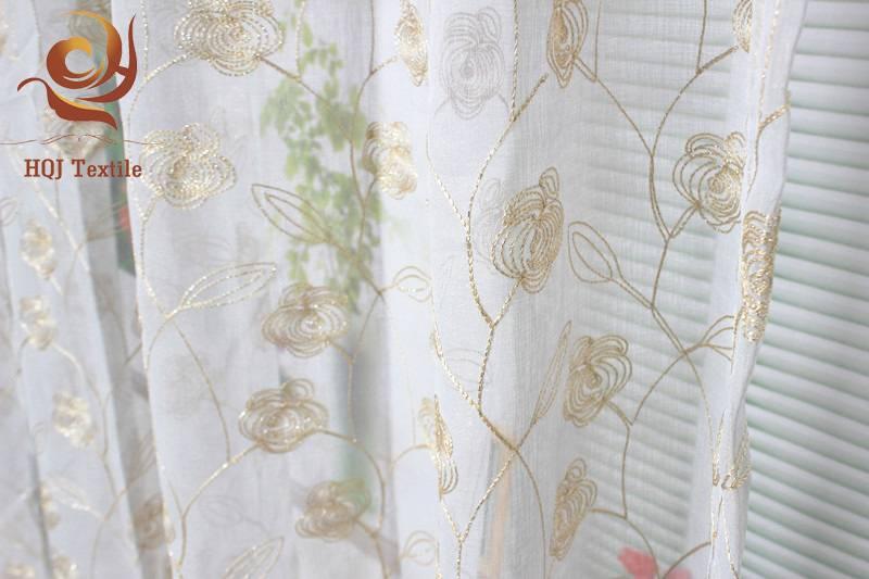 luxury sheer curtain