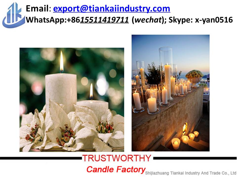 White Pillar Candle Factory