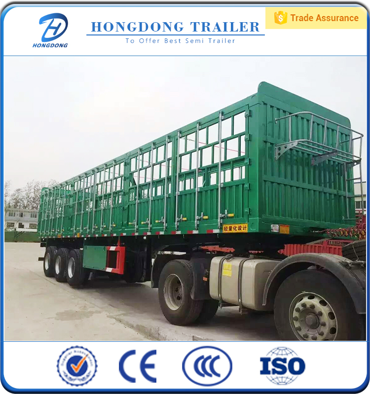 13 meters high fence stake semi-trailer