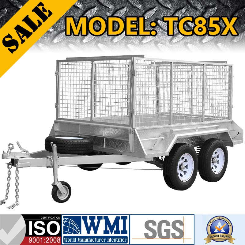 2017 3T HEAVY-DUTY TANDEM TRAILER: TC85X