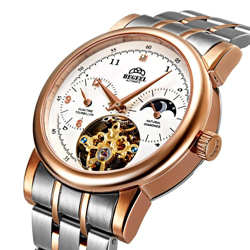 BEGEEL B186M Flywheel Watch