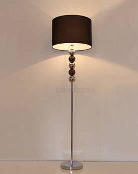 2015 Black cloth lamp shade floor lamp ,simple floor lamps F1016