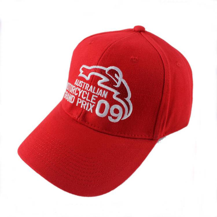 Custom 100% Cotton Embroidered Promotional Baseball Cap