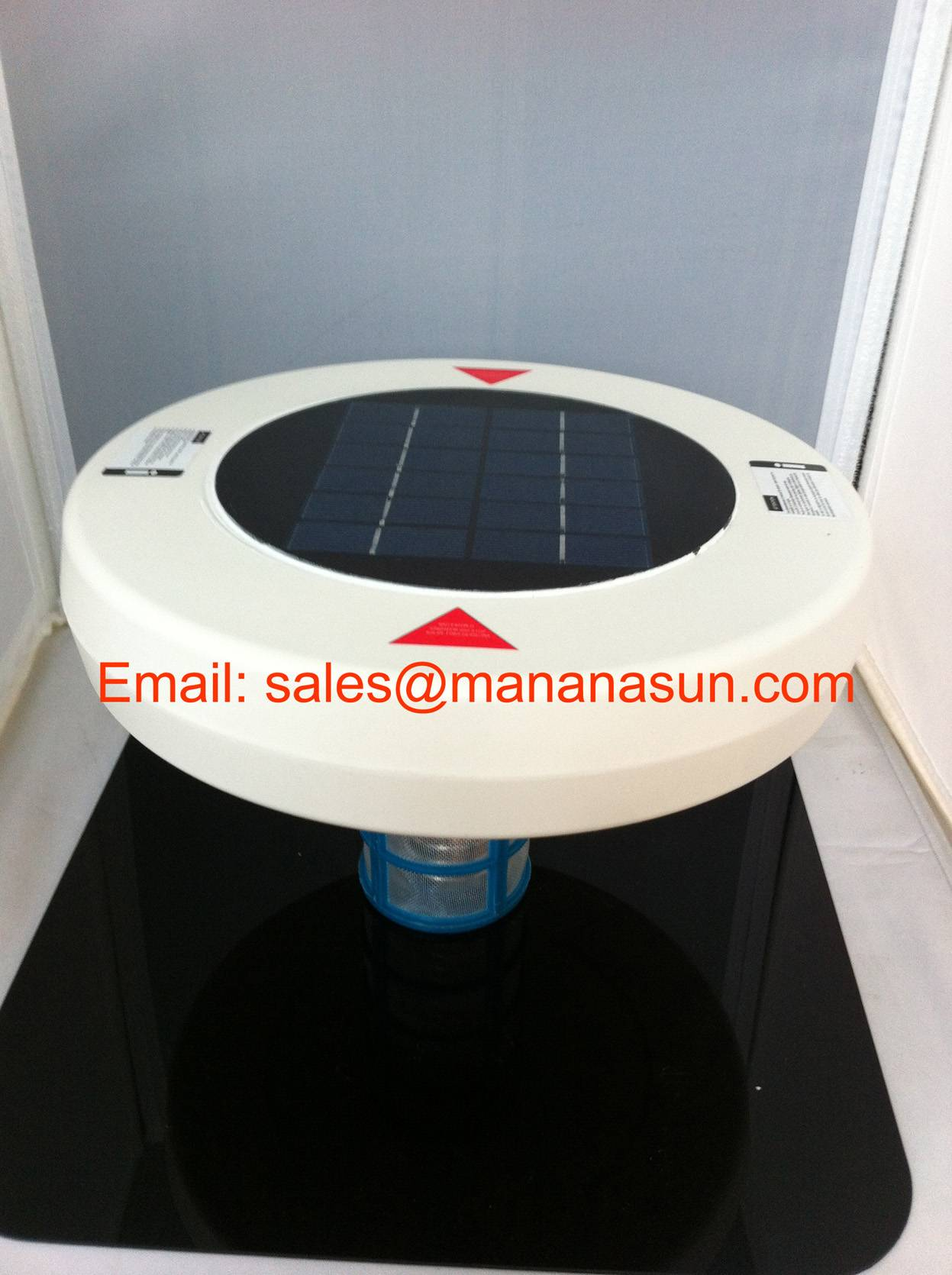Top Brand High Quality Hot Sale New Designed Mutifunction Protoble Solar Pool Ionizer