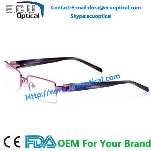 2014 latest design spectacle unisex eyewear frame Combination Optical frames