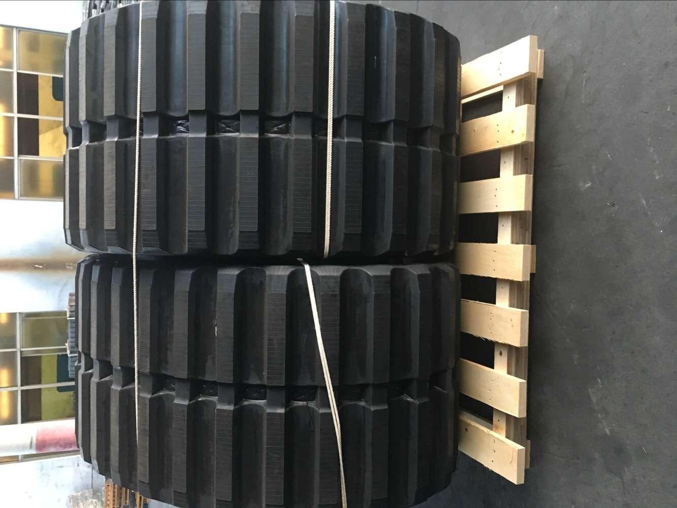 Hitachi Cg100/110 and Mst3000vd Dumper Rubber Track (80015066)