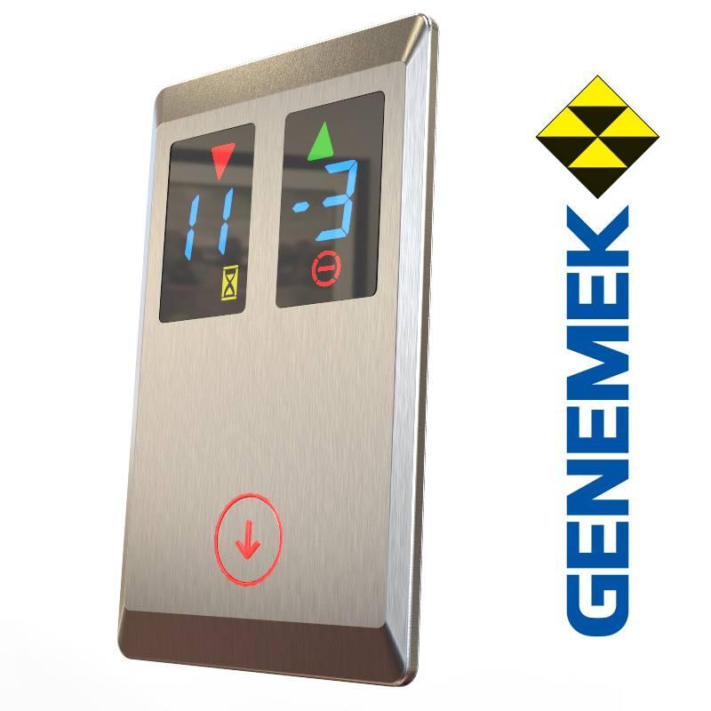 AV1082 elevator lop, duplex indicator and push button