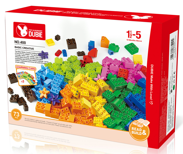 Basic creative brick set building block educational toys
