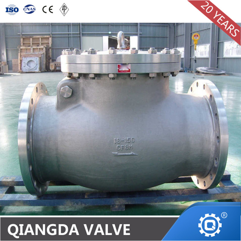 Cast Steel Wcb/Lcb/Wc6/Wc9 RF Flange Swing Check Valve