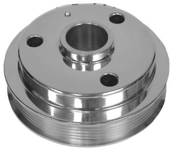 5.7L Chevy LT1 Billet Crank Pulley, Machined