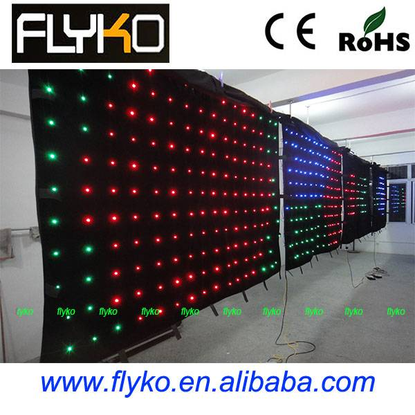 led curtain stage backdrops