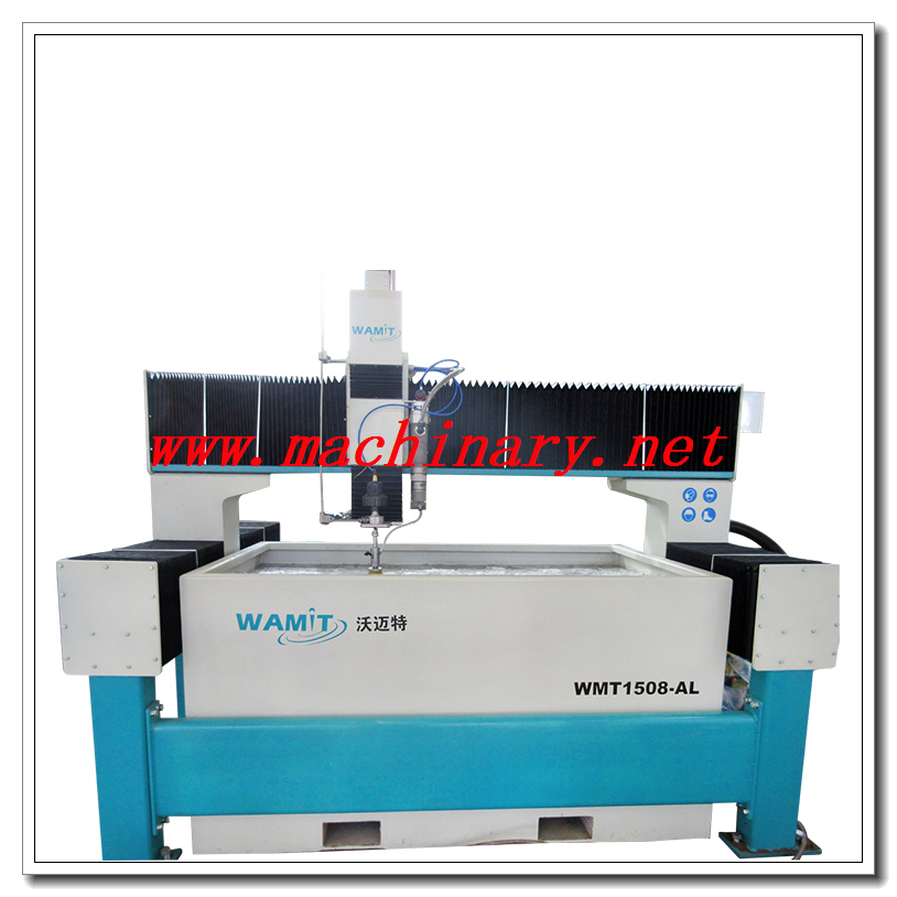 15002000mm Waterjet Cutting Machine for Glass/Plastic/Marble/Metal/Leather/Stone