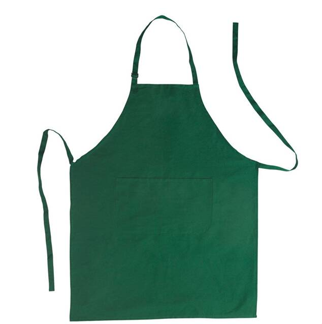 hot sale Customized logo factory price 100% TC twill vest apron with 6 front pocket ,kitchen promoti