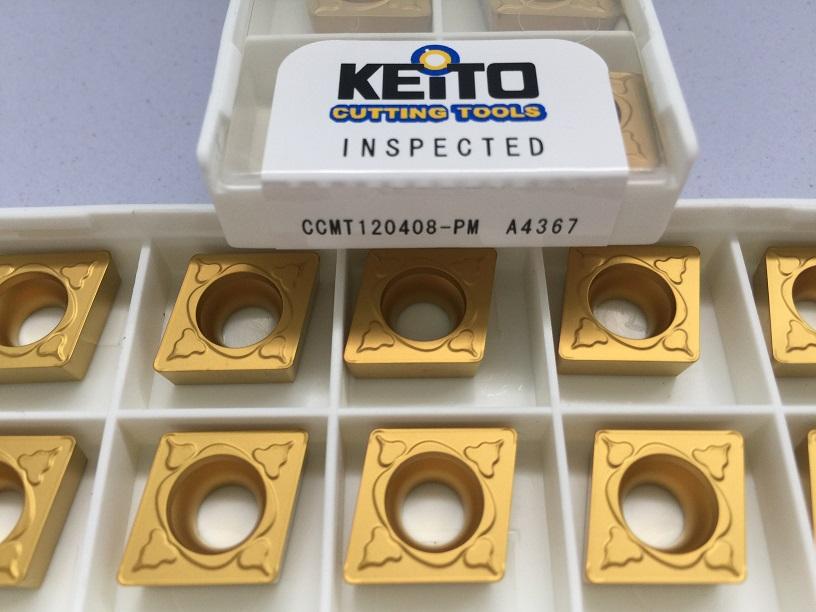 Carbide inserts CCMT120408-PM