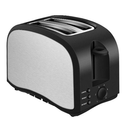ST001 2-Slice Compact Exterior Toaster 1.5 inch Extra-Wide Slots