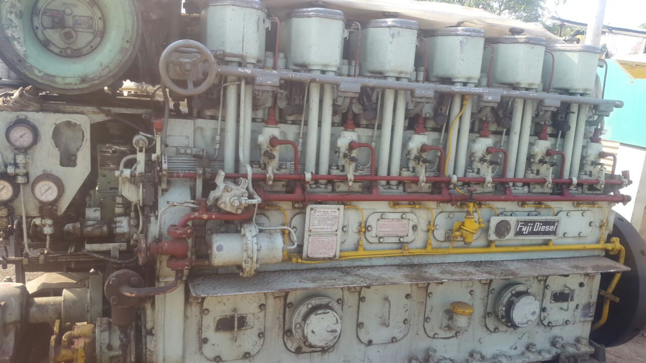 FOR SALE FUJI DIESEL ENGINE ( MARINE ENGINE) MODEL NO- 6M23C