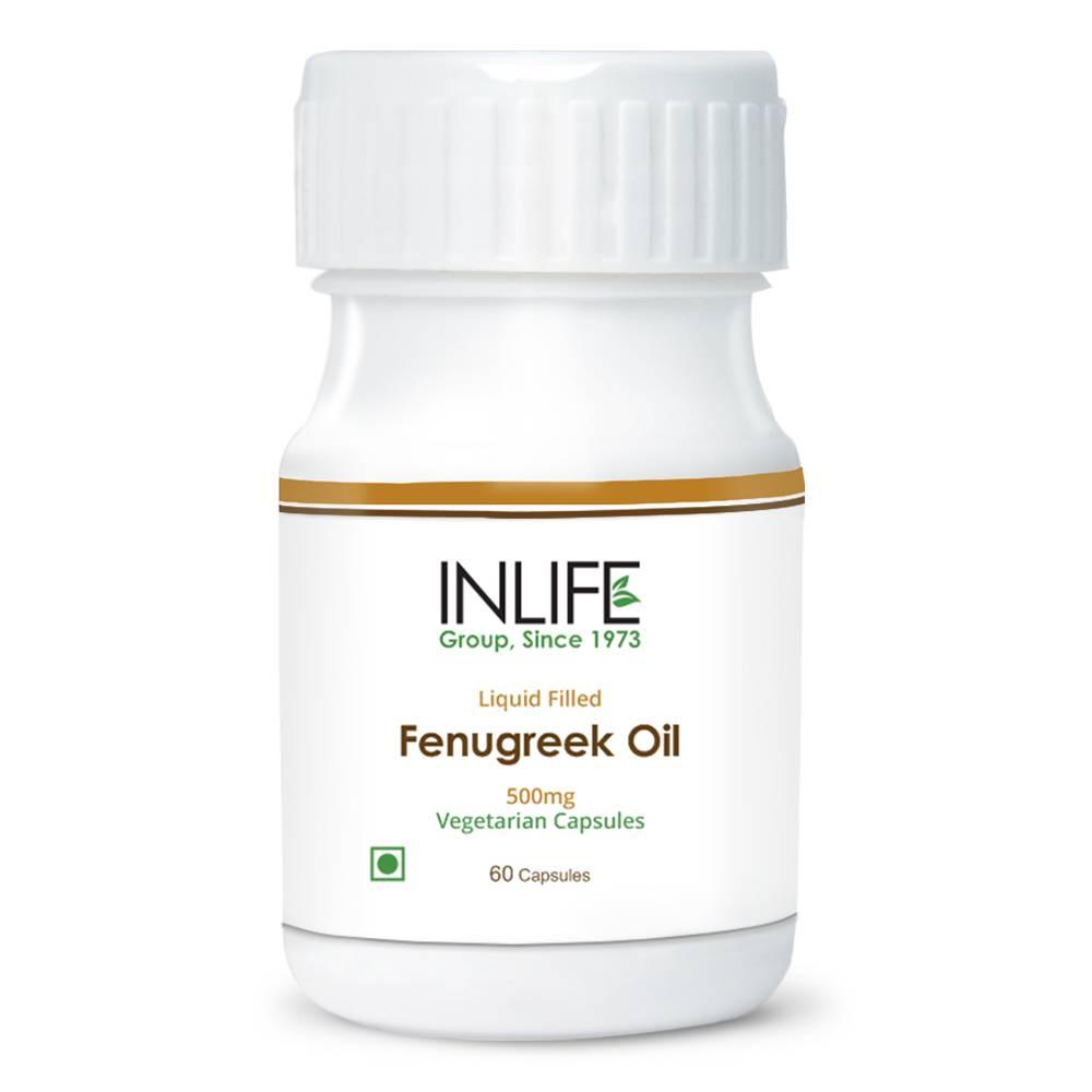 Fenugreek Oil Liquid Filled Vegetarian Capsules Extra Virgin Cold Pressed Oil GMP Certified