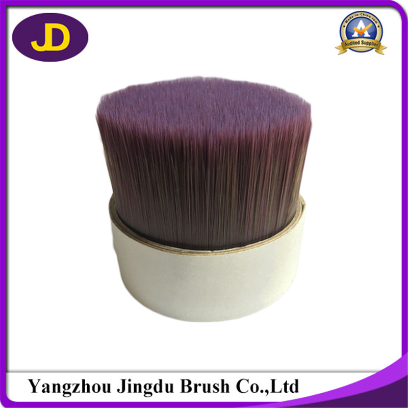 Manufacturer specially custom Violet + pickle color synthetic brush filament