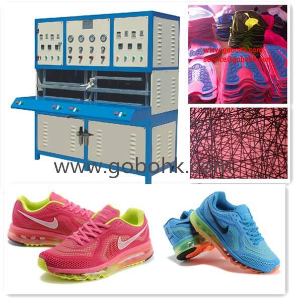 KPU sports shoes cover making machine/kpu shoes upper machine made in China