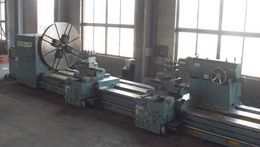 China New! Swing Diameter 2500 mm Roll Rotor Shaft Turning Heavy Duty Horizontal Lathe Machine Price
