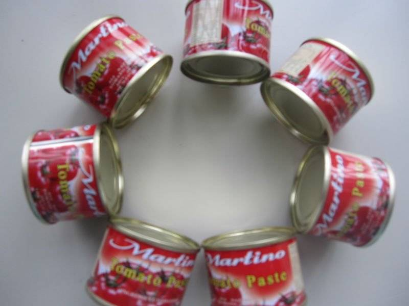 Canned Tomato Paste For Italian Double Concentrated Tomato Paste