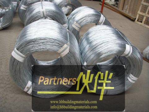 Anping factory direct export galvanized iron wire, galvanized wire