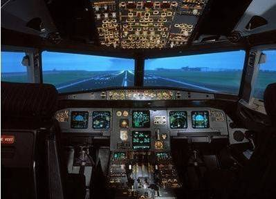 Large Projection Screen for Flight Simulation (Fresnel Lens)