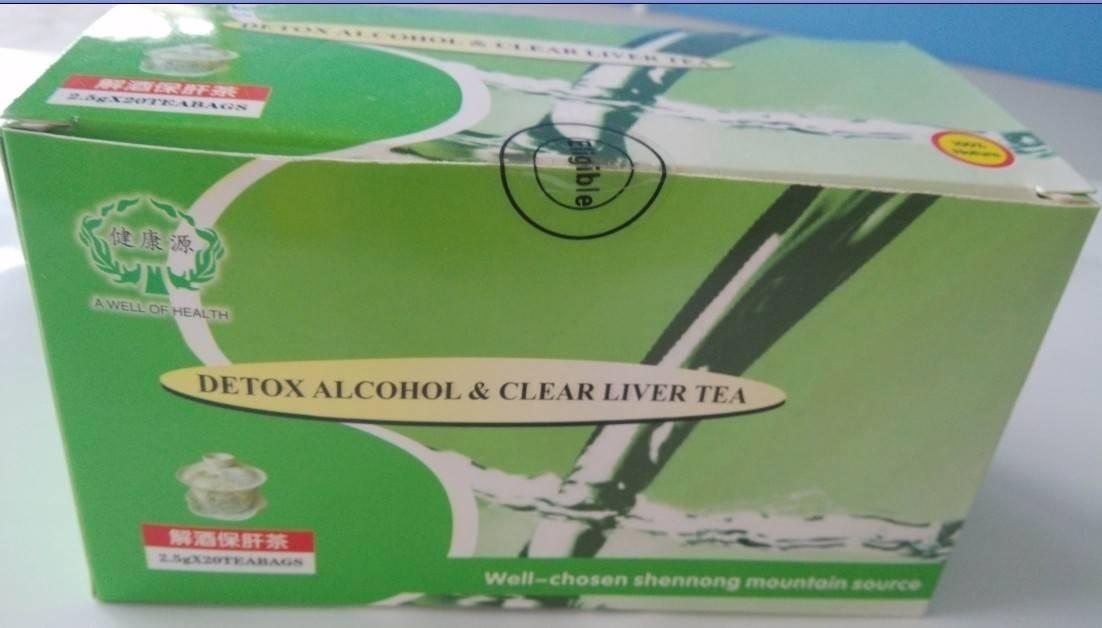 Detox Alcohol & Clear Liver Tea