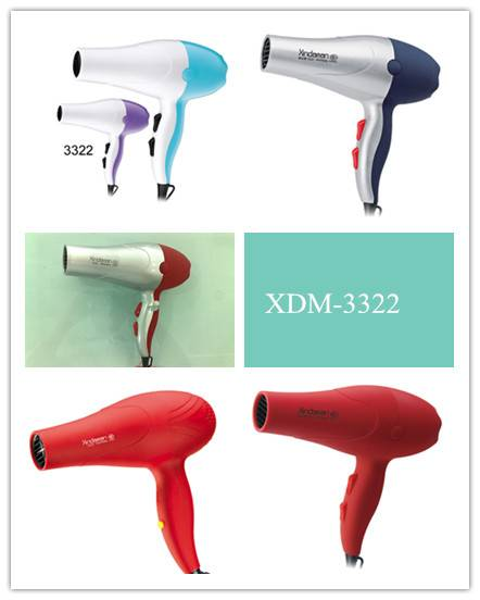 Fashionable hotel hair dryer for hotel use