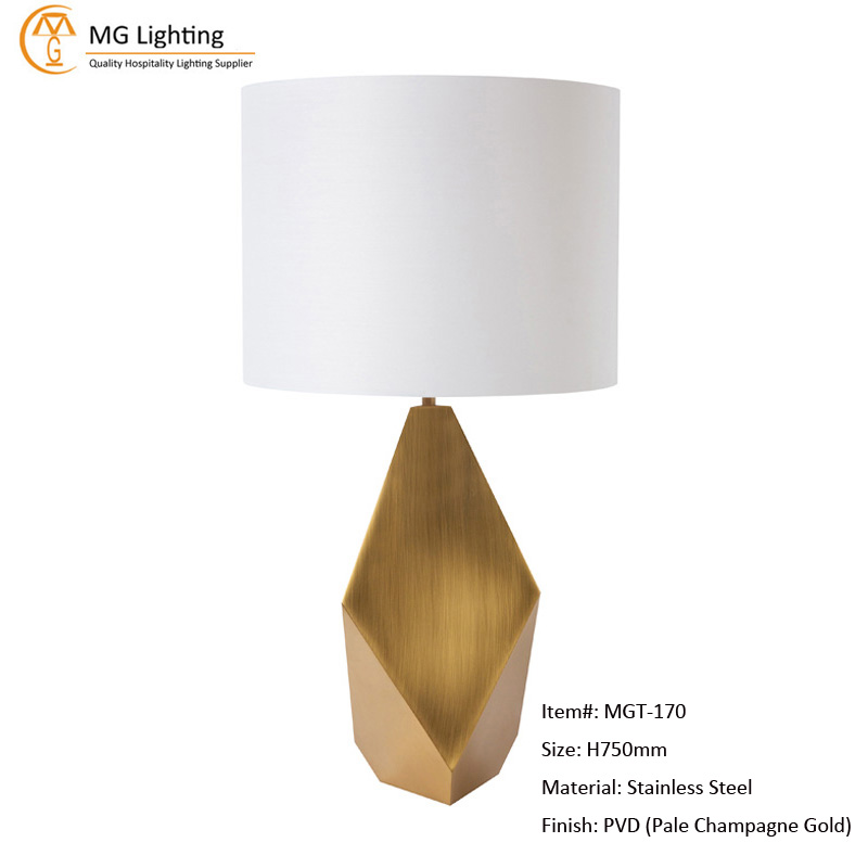 MGT-170 Stainless Steel Table Lamp