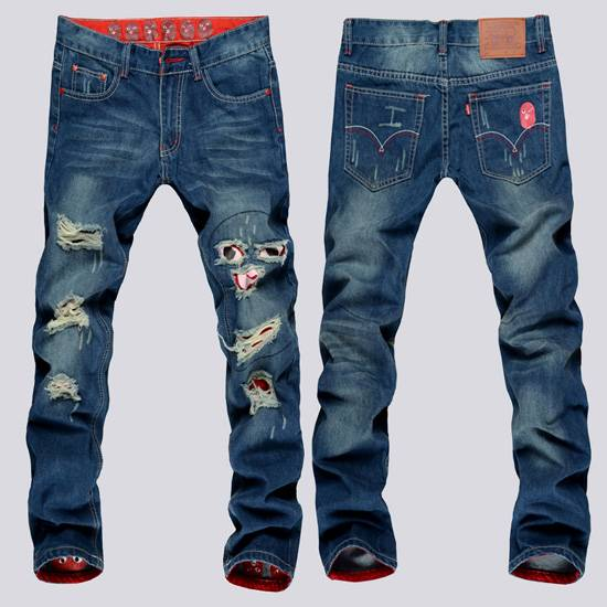 slim skinny denim jeans for men pants
