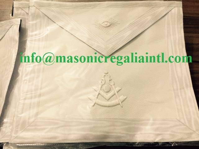 ALL WHITE PAST MASTER APRON