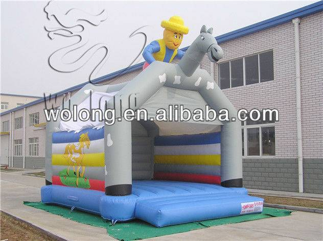 Factory direct Inflatable Castle Knight Bounce/inflatable bouncer