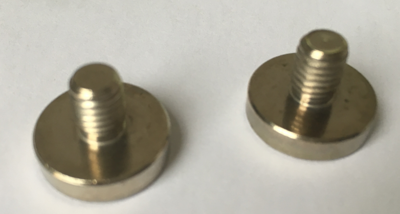 Pot magnet D16X4+M6X12