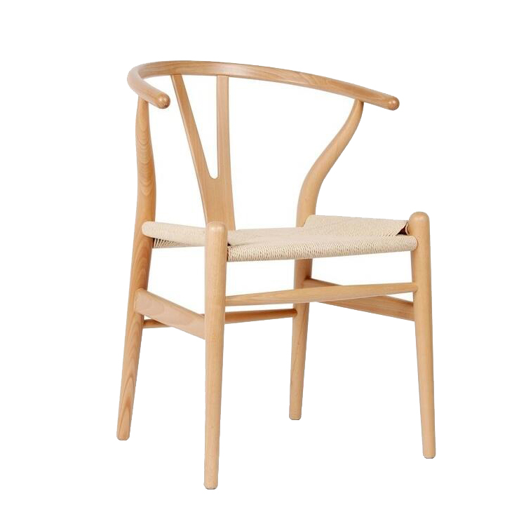 Y Shape Dining Chair Wishbone Wooden Dining Chair Modern