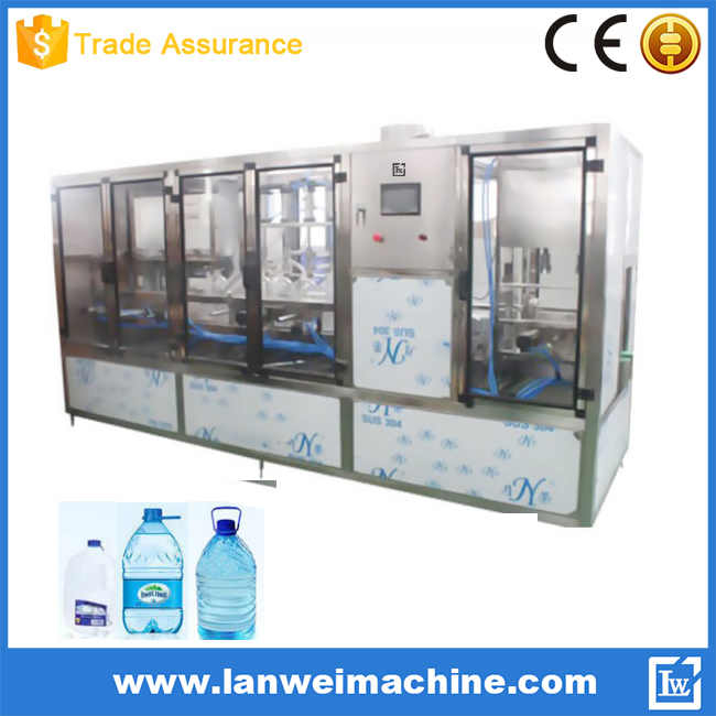 1gallon or 3 gallons PET Bottle filling machine