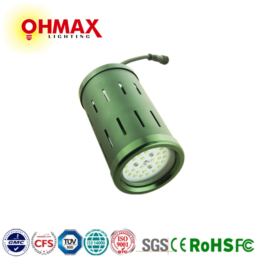 OHMAX 30W Patented Design Kaleidoscope Type Integrated COB LED Grow Light