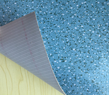 Mesh Fabric Backing PVC Flooring