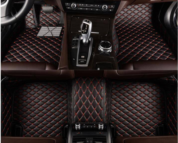 Car Mats 5D Full Surrounded Waterproof Leather XPE Car Floor Mats for Lexus Ls460 Ls460L/ Ls600h /Ls