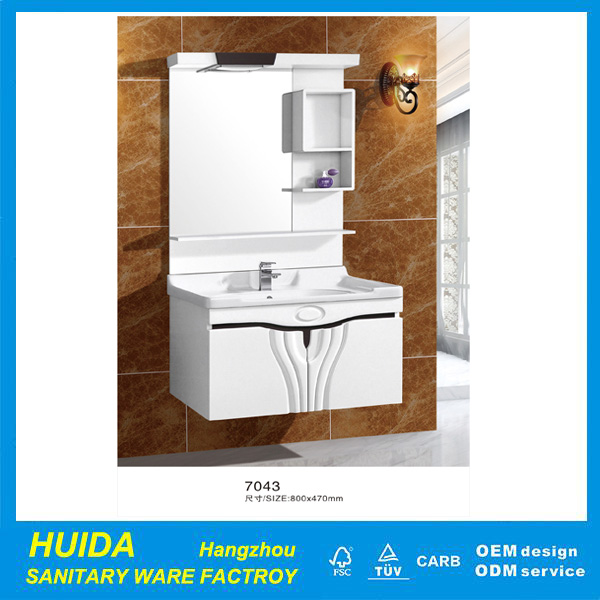 China Manufacturer Ceramic Hand Wash Basin Wholesale Bathroom Cabinet
