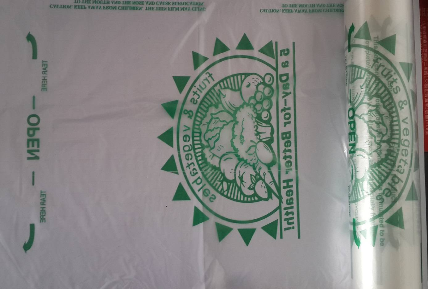 PE PLASTIC BAGS,PRINTING BAGS,ON ROLL/ACCORDING TO CUSTOM REQUEST