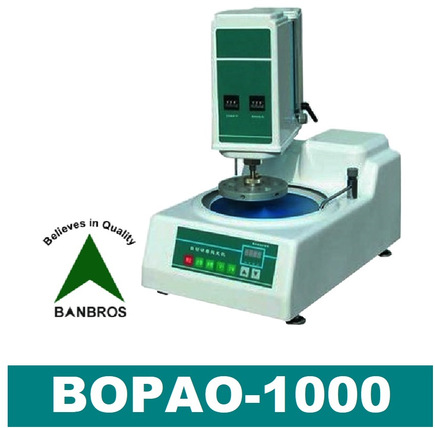 Automatic Metallographic specimen grinding and polishing machine