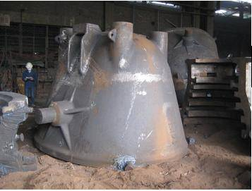 steel castings:slag container