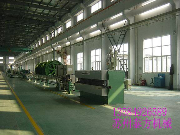 Power cable extrusion machine