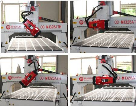 Linear Auto Tool Changer CNC Router Machine
